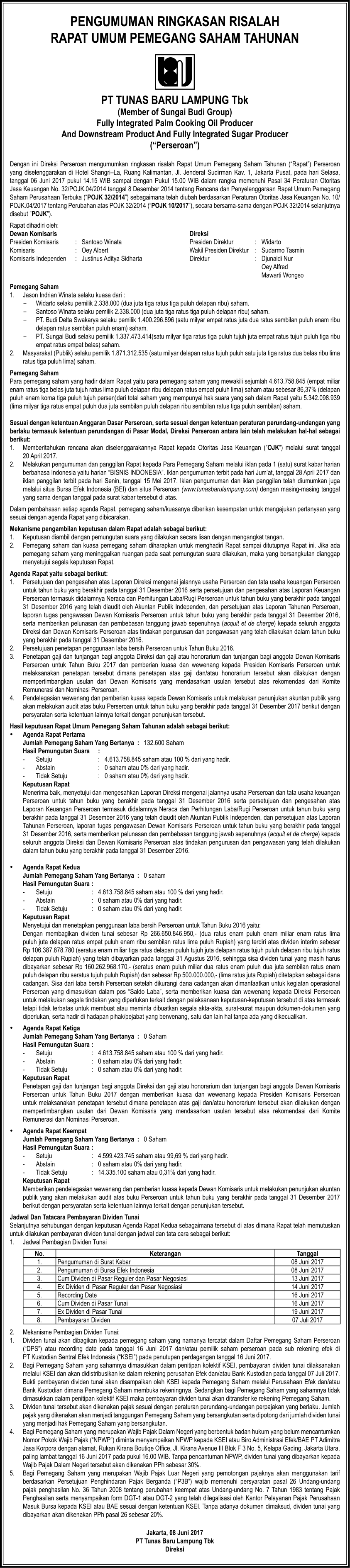 PengumumanRisalahRUPST TBL Bisnis 3(107)x480 08_Juni_2017(z)-1